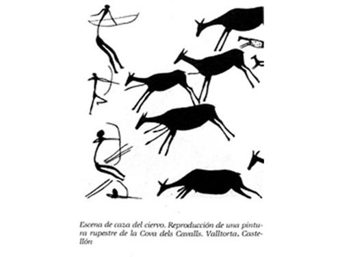 Fig 3.  cazadores de ciervos.a Custom 2